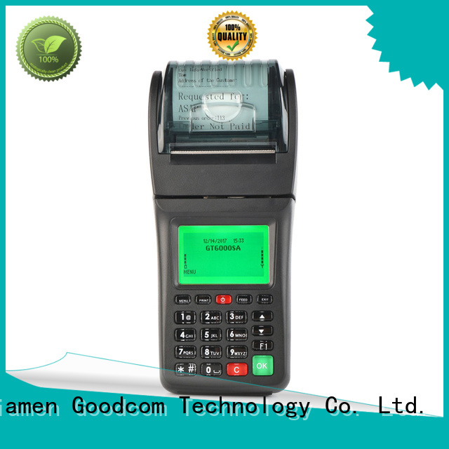 Goodcom portable handheld pos terminal credit card reader for sale