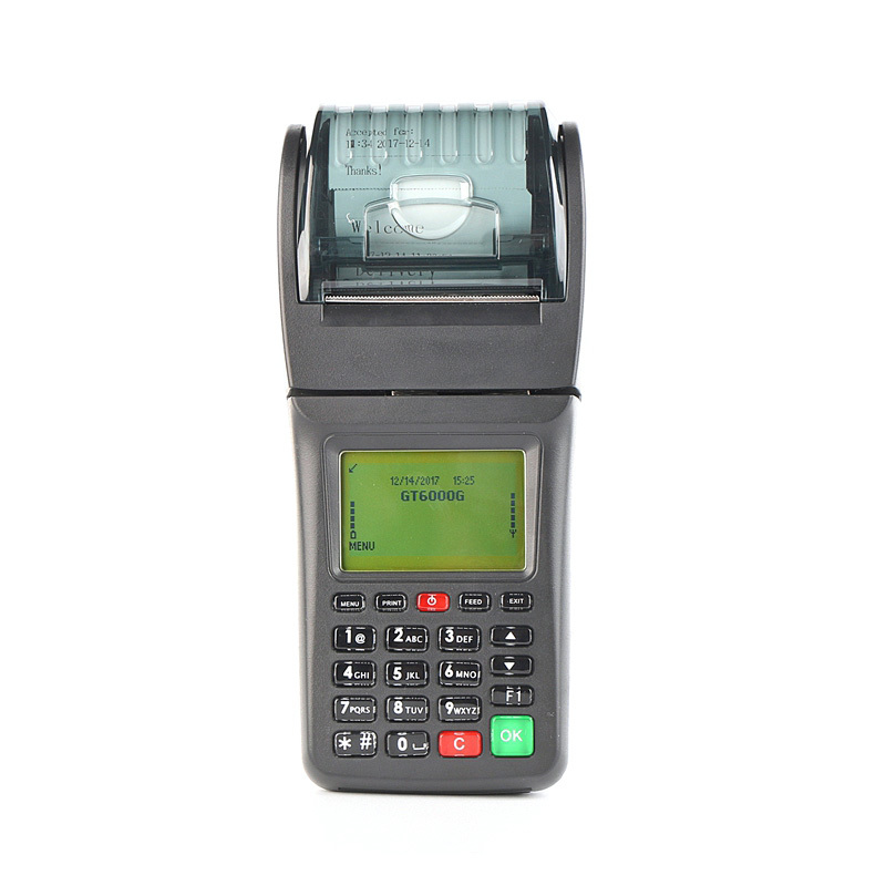Wireless Bus Ticket Printing 3G GPRS Pos Lottery Terminal