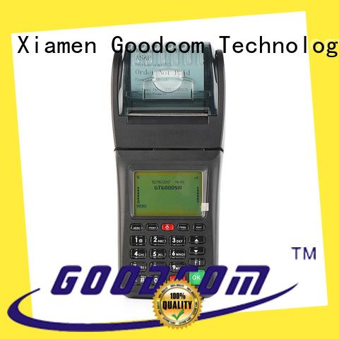 handheld gprs pos airtime for restaurant Goodcom