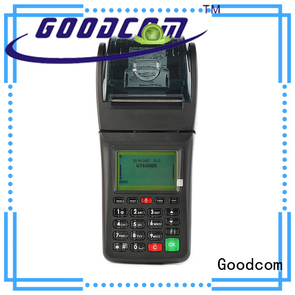 Goodcom cheapest price gprs pos terminal handheld for food ordering