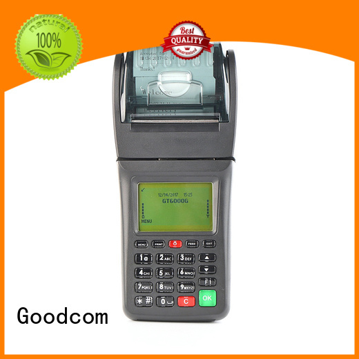 Goodcom top selling handheld pos with printer for customization