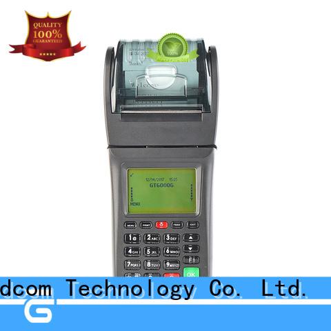 mobile pos device with printer for customization Goodcom