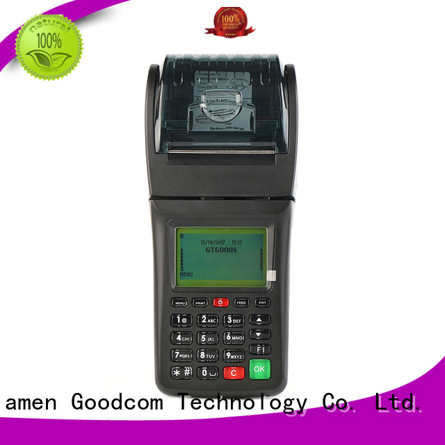 portable handheld ticketing machine airtime for customization