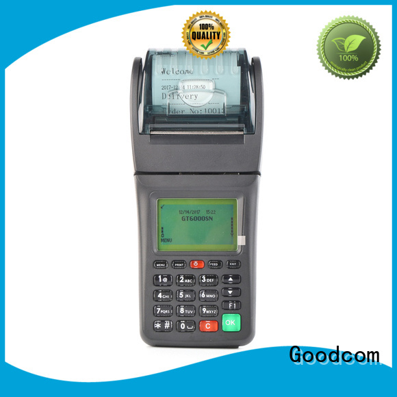 printing lottery handheld pos with printer mobile device for customization Goodcom