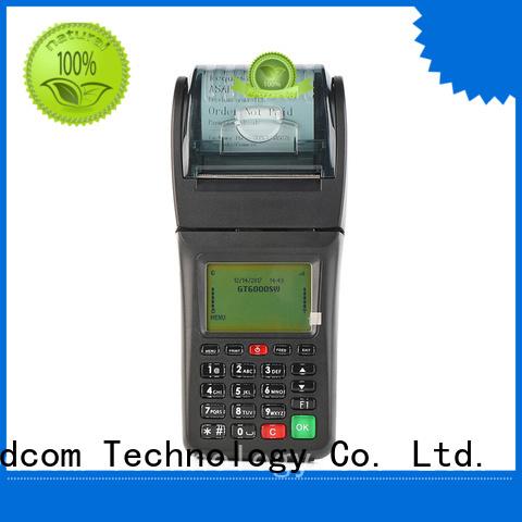 portable portable gprs pos wifi for restaurant Goodcom