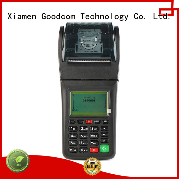 Latest handheld ticketing machine factory