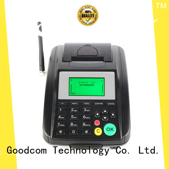 Goodcom top brand gprs thermal printer handheld for food ordering