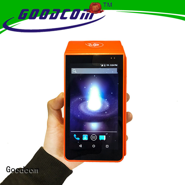 Goodcom mobile payment mobile pos device excellent performance for delivery service