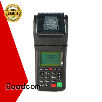 Goodcom high quality portable gprs pos handheld for customization