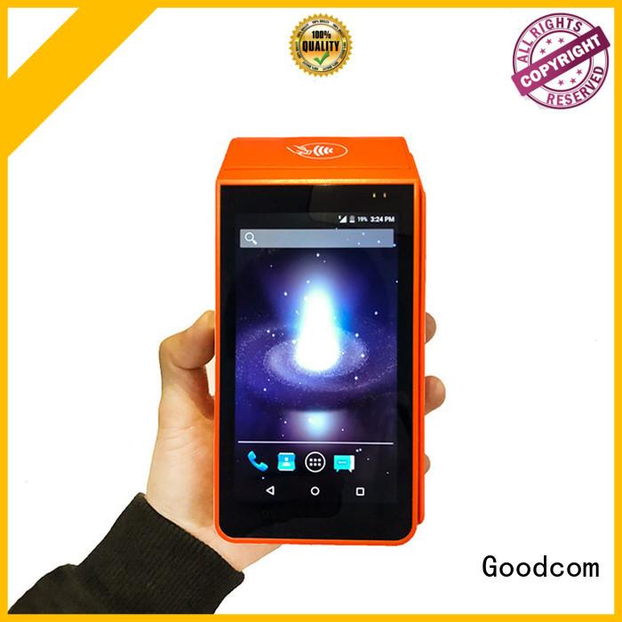 Goodcom portable handheld terminal with printer for taxi