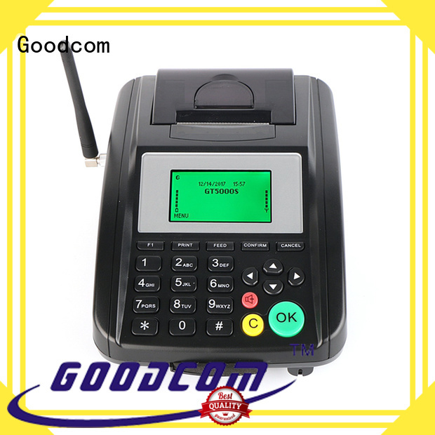 Goodcom voucher gprs pos terminal for customization
