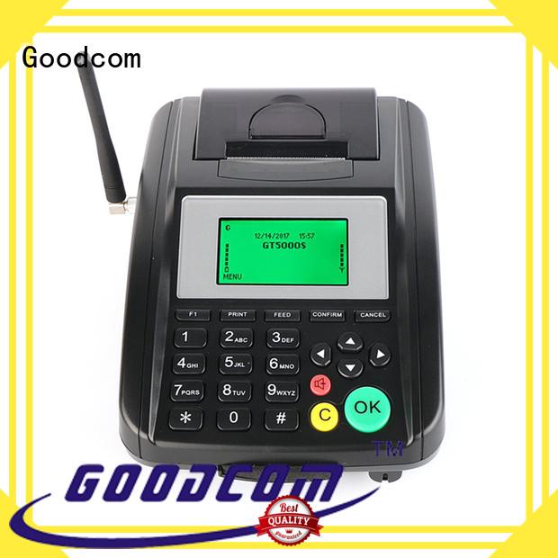 Goodcom gprs receipt sms printer terminal for customization