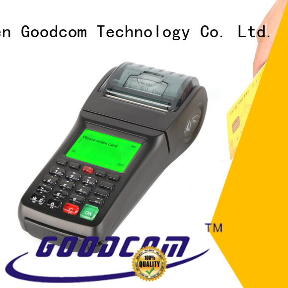 Goodcom credit card swipe machine for business