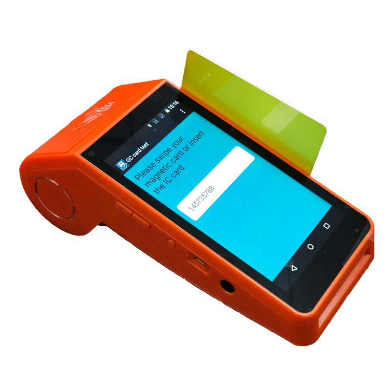 Portable Magnetic Credit Card Reader Pos Mobile Payment Terminal GT90M