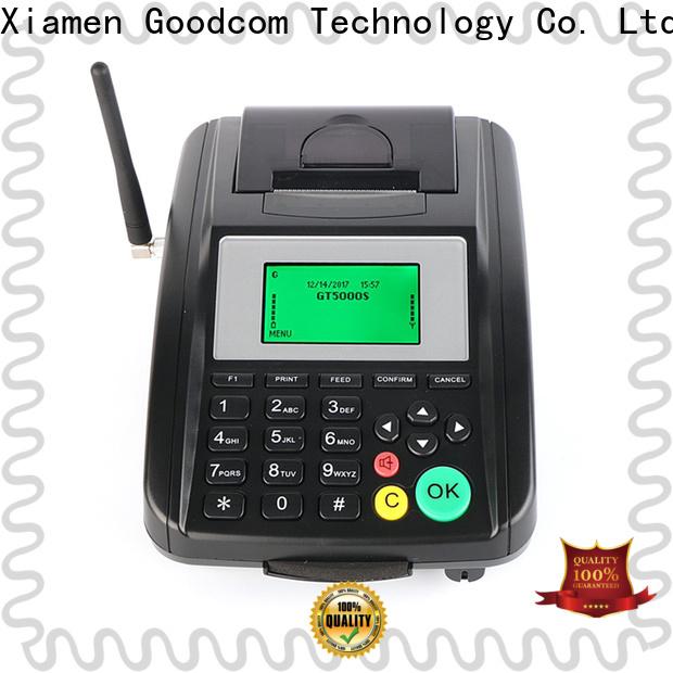 Goodcom gprs pos machine wholesale for mobile payment