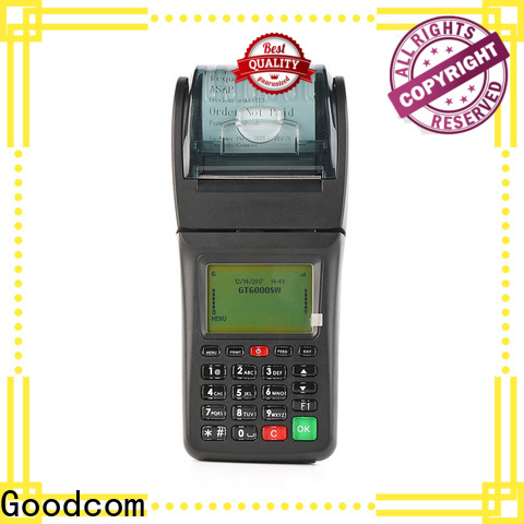 Goodcom handheld ticketing machine manufacturer for mobile payment