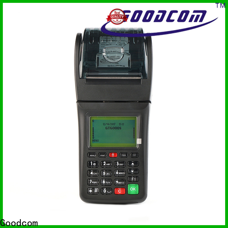 Goodcom new gprs pos machine wholesale for mobile payment