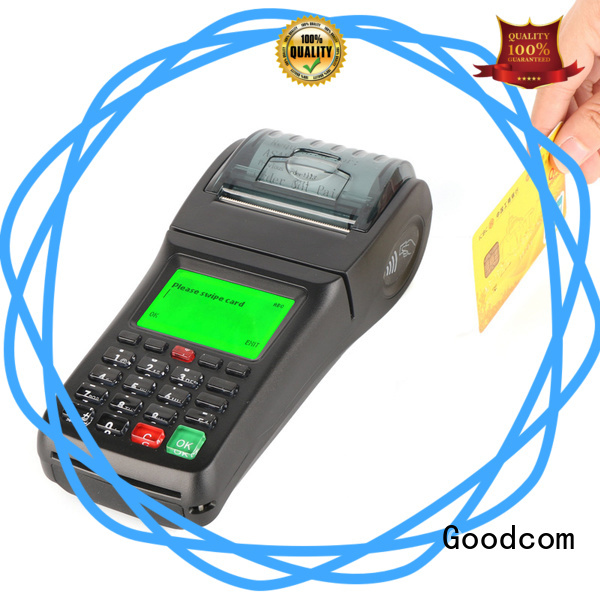custom services portable pos machine credit card reader fast installation Goodcom