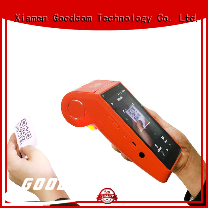 Wireless Android Pos Terminal with Thermal Printer Barcode Scanner GT90S