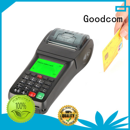 Goodcom portable credit card machine for small business