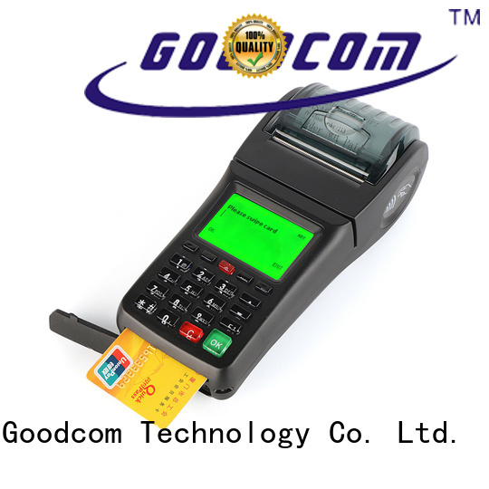 Goodcom oem handheld pos with printer mobile payment for sale