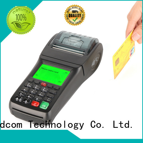Goodcom applicable pos card machine for fast installation