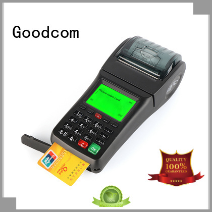 Goodcom odm handheld pos devices credit card reader