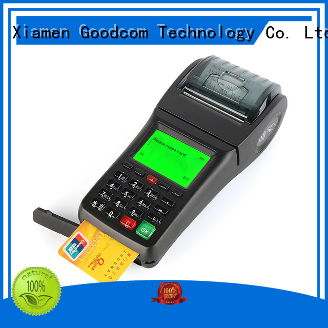Goodcom mobile payment debit card machine on-sale for wholesale