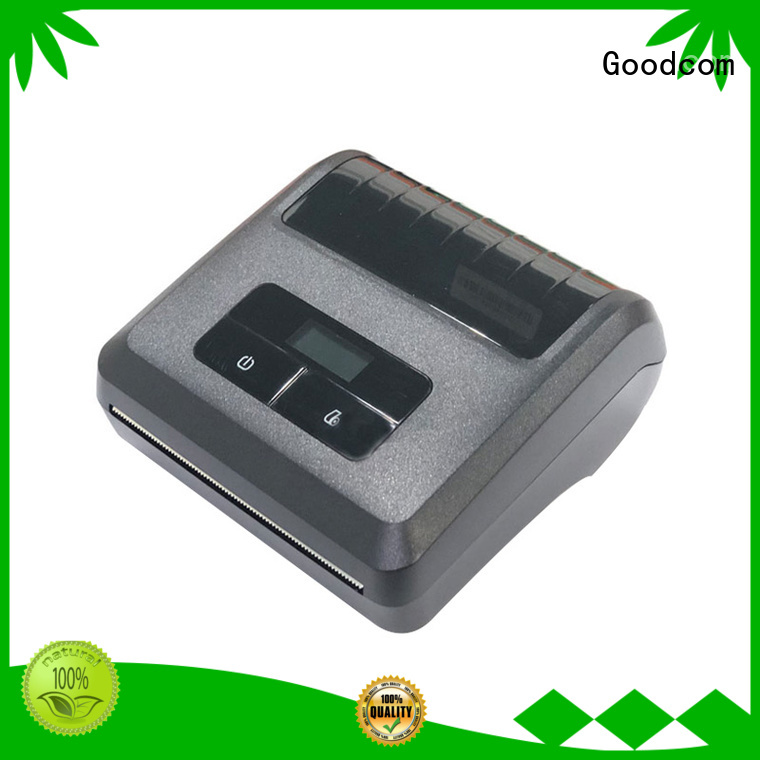 Goodcom high quality mobile printer bluetooth manufacturer for iphone
