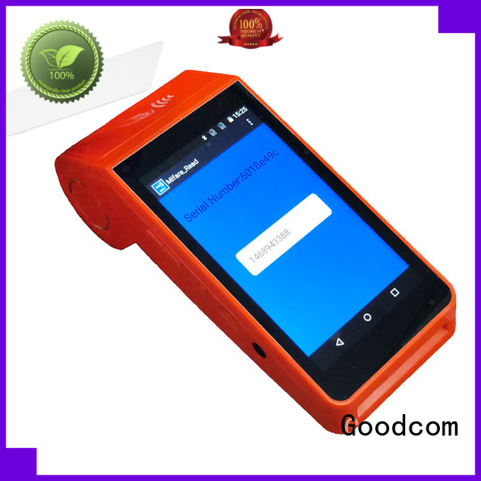 Portable Mobile Pos System Android Terminal with NFC card Reader GT90N