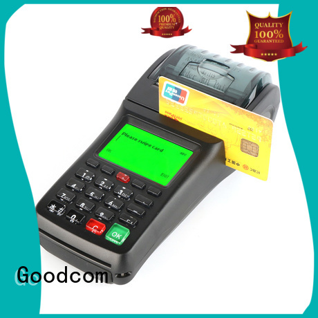 Goodcom oem credit card terminal machine for fast installation