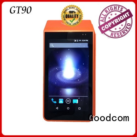 Goodcom pos android advanced technology for taxi