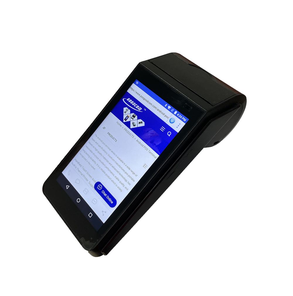 Handheld Touch Screen 3g 4g wifi NFC Smart Android Pos Terminal GT90
