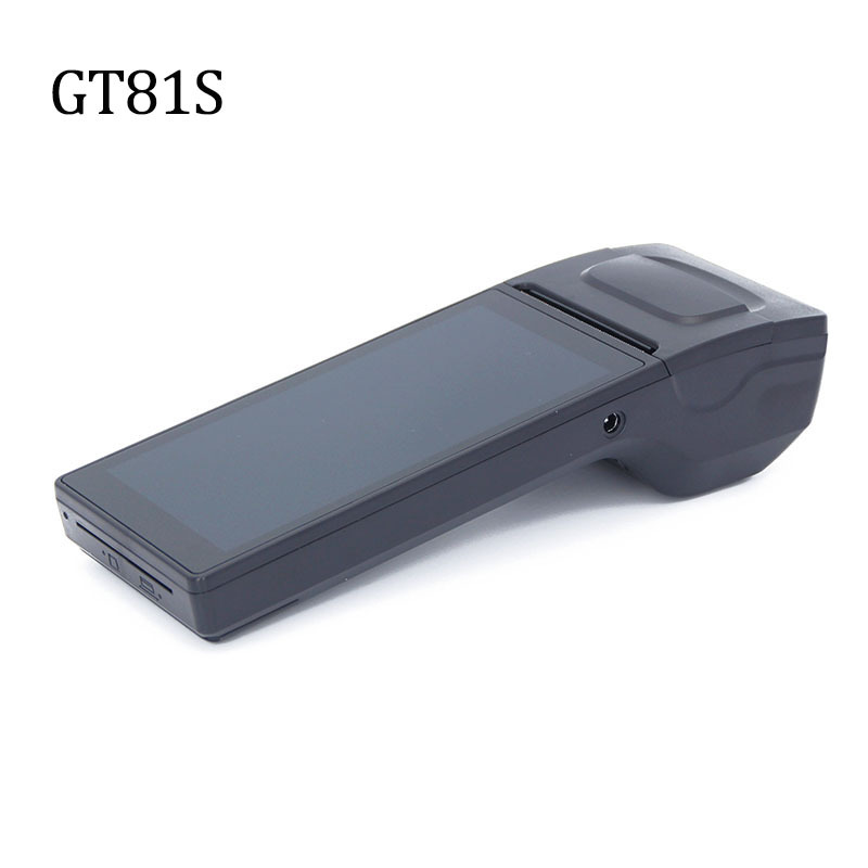 Handheld Touch Screen Android Pos Terminal Car Parking Thermal Receipt Printer