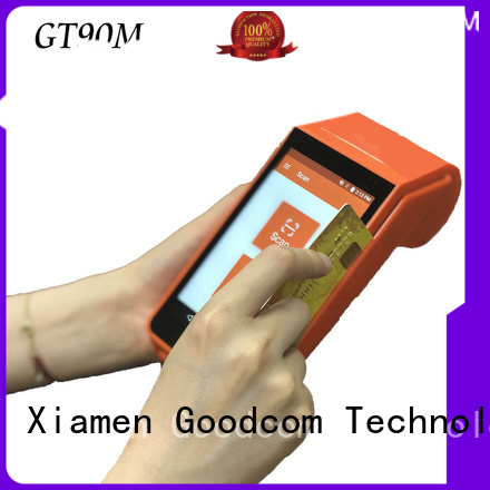 mobile payment android pos terminal with printer excellent performance for delivery service