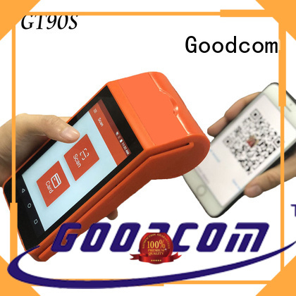 Goodcom high-quality android pos terminal with printer long-lasting durability for lottery