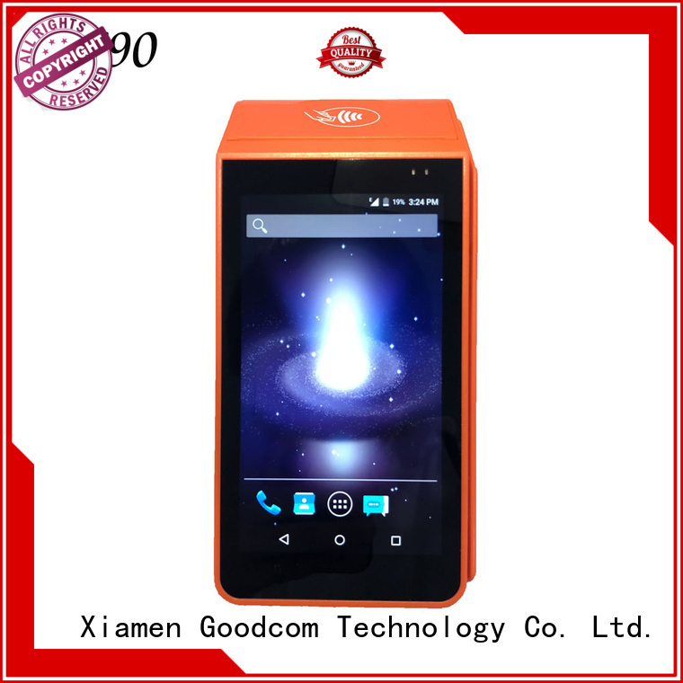 Goodcom pos android with touch screen for takeaway