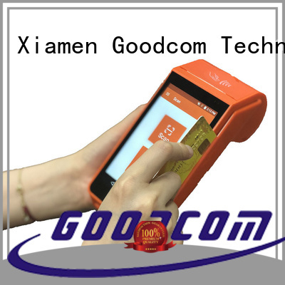pos android handheld for mobile top-up Goodcom