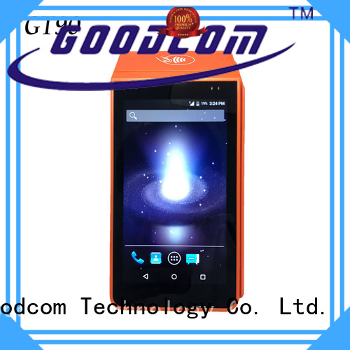 Goodcom pos android with touch screen for taxi