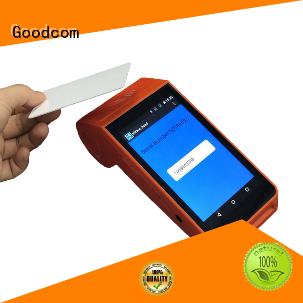 Goodcom mobile payment pos android long-lasting durability