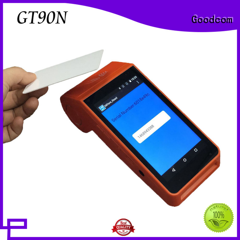 Goodcom portable pos machine android long-lasting durability