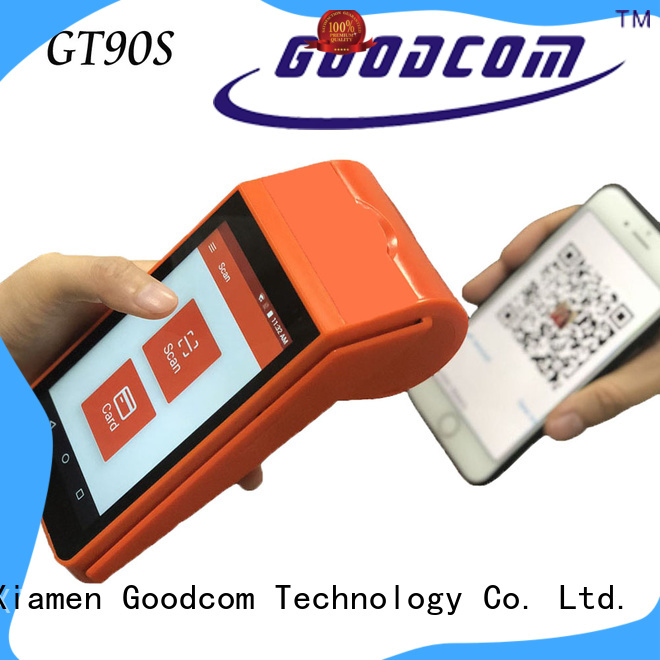 Goodcom android pos machine advanced technology for takeaway