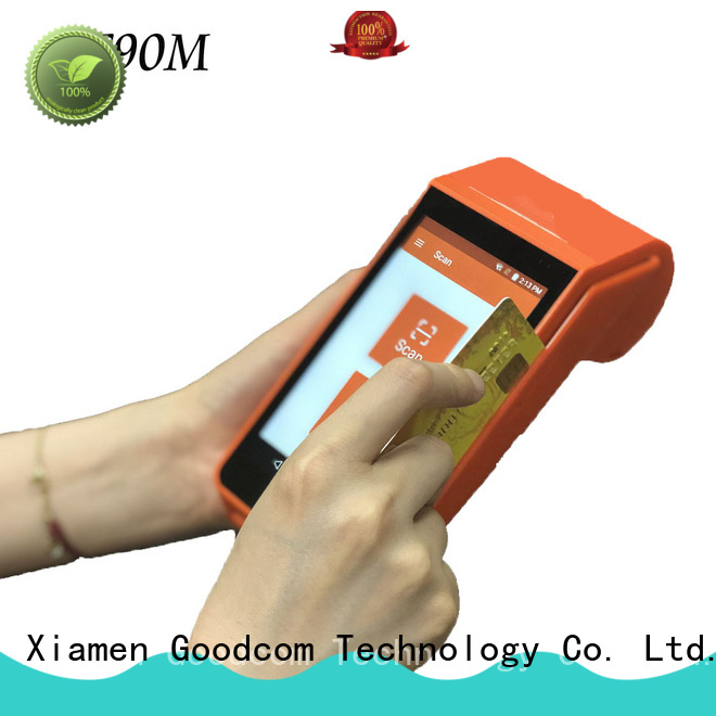 Goodcom 3g/4g/wifi pos machine android advanced technology for hotel