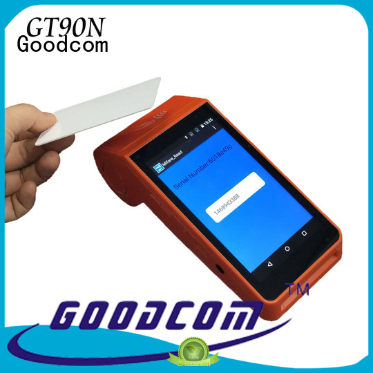Goodcom top manufacture pos android factory price for bill payment