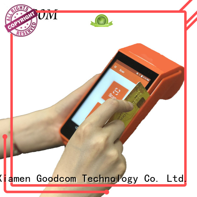 3g/4g/wifi pos machine android with touch screen for mobile top-up