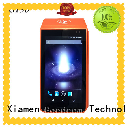 mobile payment android pos terminal with printer factory price for bill payment