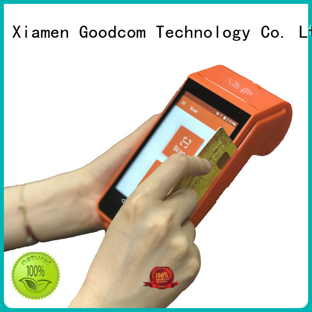 android tablet with printer stable quality for hotel Goodcom