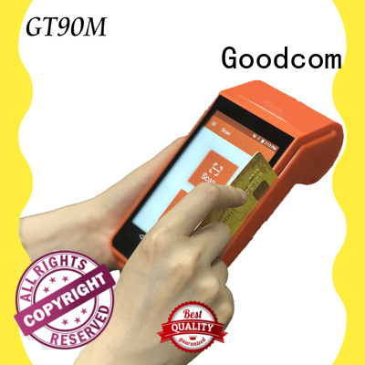 Goodcom android pos terminal with printer with touch screen for bus tickets